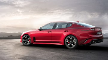 The All New 2018 Kia Stinger